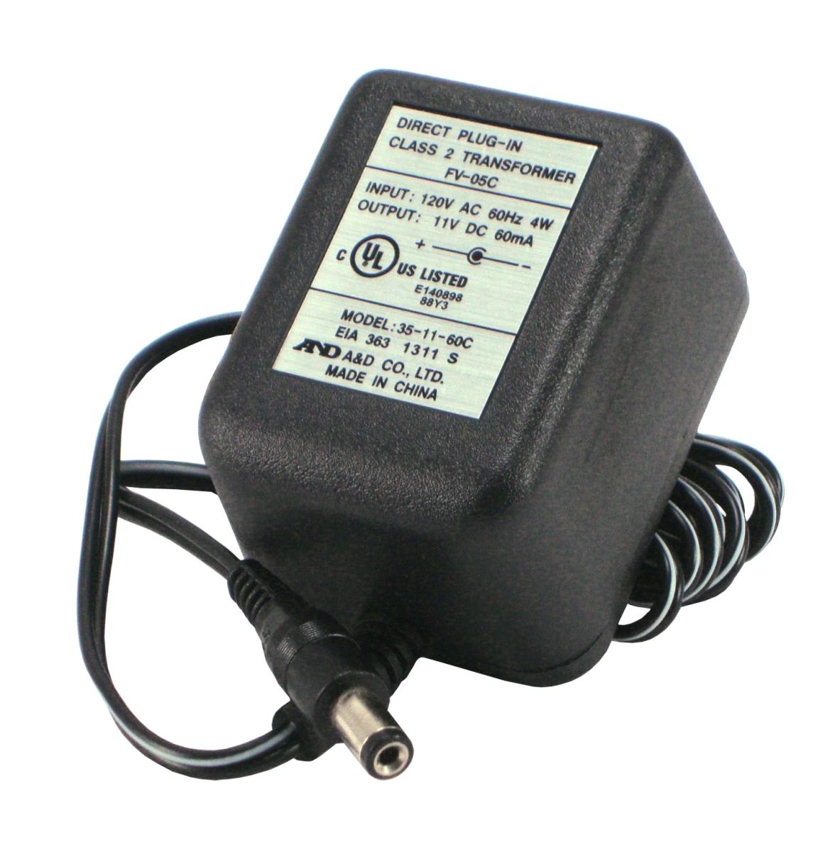 A/&D Engineering TB:174C AC Adapter