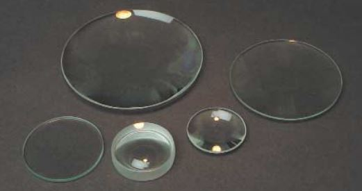 DOUBLE CONVEX LENS, GLASS, UNMOUNTED, 50MM DIA / 130MM