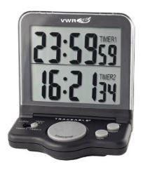Traceable® Jumbo Timer (Black)